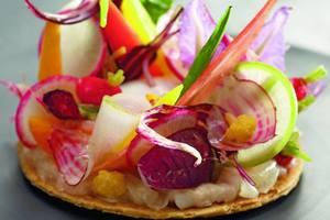 Manger chez l'habitant: Soleil de la provence et fraîcheur dans l'assiette