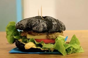 Cenas particulares como en su propia casa: Burger bio et véggie