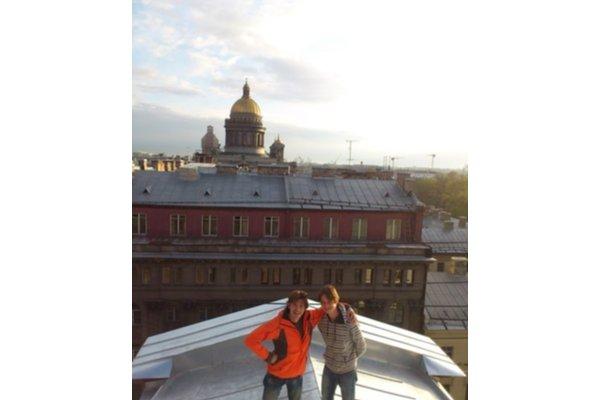 La cuisine russe dans le centre de st-petersbourg