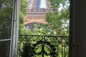 Eat with locals: Eiffel tower dinner