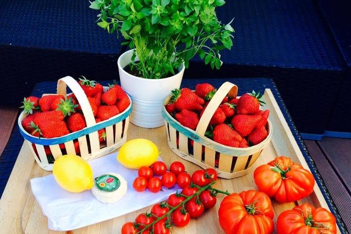 Au pays de la fraise et de l'asperge