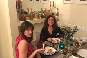 Cenas particulares como en su propia casa: Diner gourmet franco-argentin avec découverte tango et chant