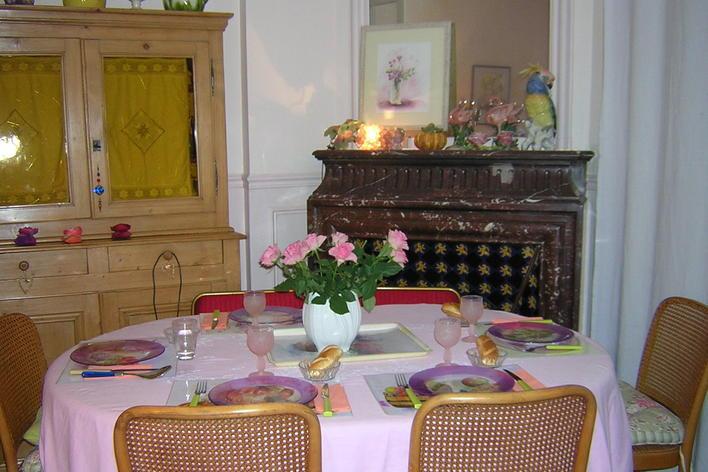 Dîner artistique, bio et sans gluten!     artistic diner in paris, glu...