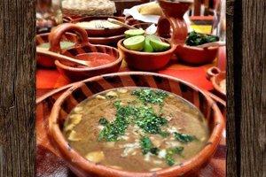 Cenas particulares como en su propia casa: Carne en su jugo from jalisco