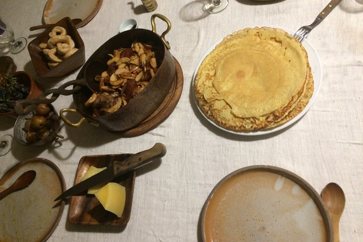 Historic cooking class: the middle ages
