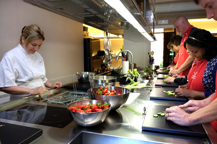 Market and cooking class