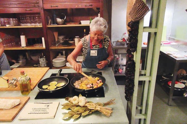 Private hands-on cooking class with a local grandma