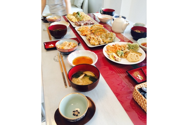 Japanese home cooking class in english in tokyo!