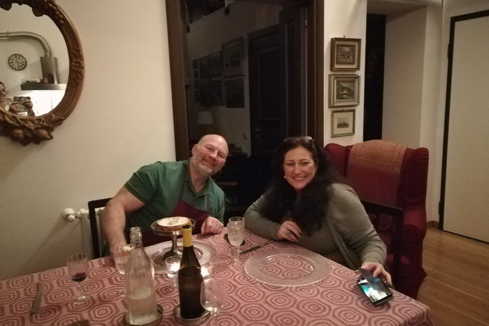 Dinner with a private sicilian cook
