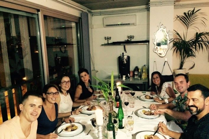 Spanish and catalan food!! diner!